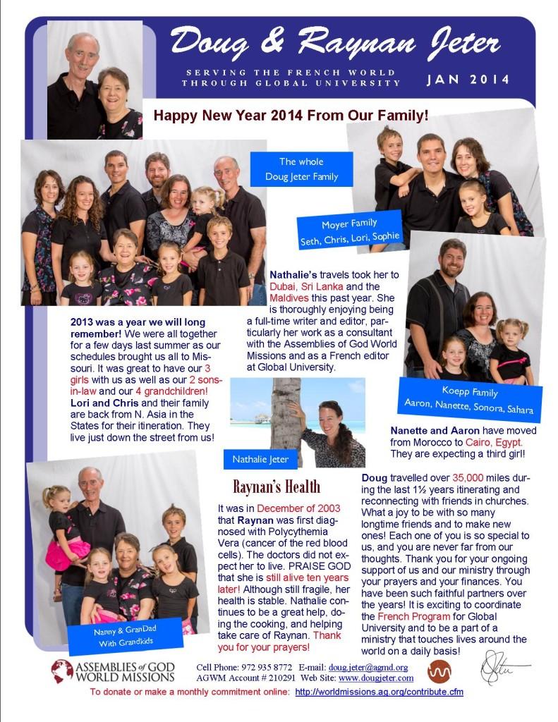 Jan 2014 News